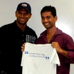 Shiv & Krishna Dase,President of the Gators Cricket Club