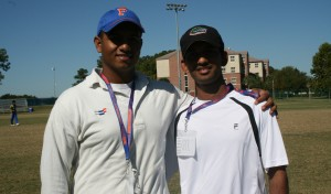 Gator Cricket Captain Sandeep Pillarsetty & Krishae Dase