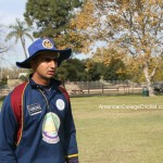 2010 Under 19 World Cup USA Captain Shiva Vashishat (UC Davis)