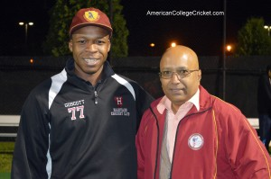 Harvard's Norris Guscott, cricket mentor & coach of Danny.