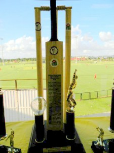 The Shiv Chanderpaul Throphy, for the winner of the National Championship
