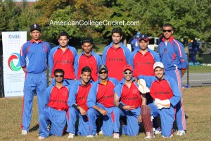 The Ryerson University team which, in Oct 2011 played in the first domestic cricket games EVER on TV in the USA & Canada