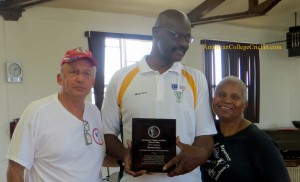 Hall of Famer David Sentance, Mustafa & Delores Sheen