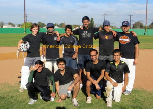 Anajaneya Malpani (far right kneeling, with glasses) with the Claremont team