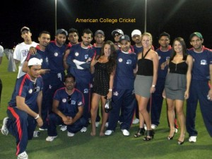 University of Houston Cougars team at the 2011 American College Cricket National Championship