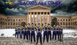 Drexel Dragons, a pic that's being widely emulated.