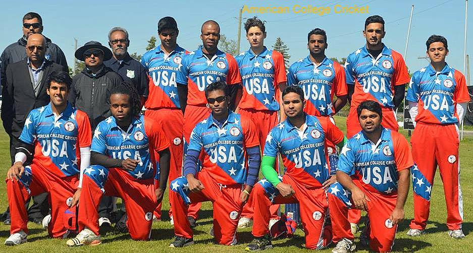 American College Cricket Usa Team For All Star Weekend